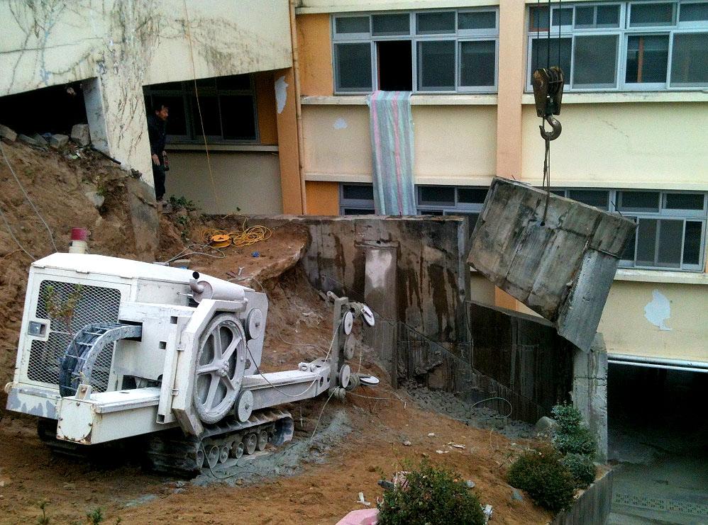 Demolition Concrete Wall : Concrete wall demolition cornerstone ltd home